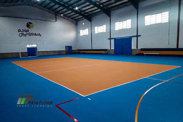 پروژه سالن ورزشی موج اداره کل ورزش و جوانان مازندران