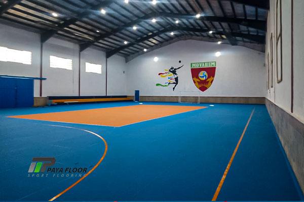 این سالن متختص والیبال است
